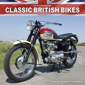 Classic British Bikes naptár 2021