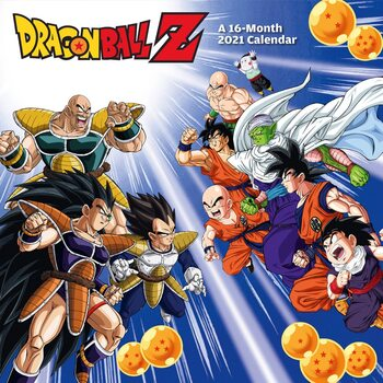 Dragon Ball Z naptár 2021