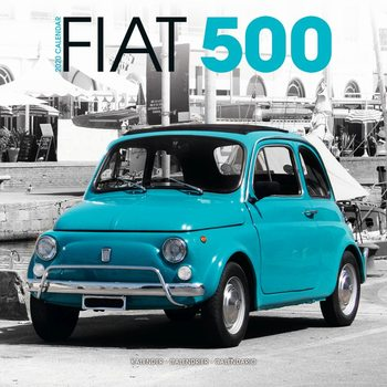 Fiat 500 naptár 2021
