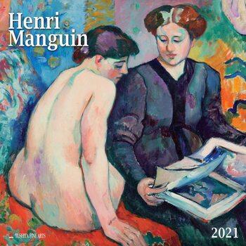 Henri Manguin naptár 2021