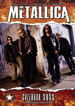 Metallica naptár 2022