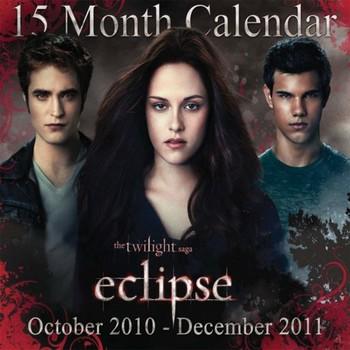 Official Calendar 2011 - TWILIGHT ECLIPSE naptár 2022