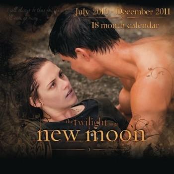Official Calendar 2011 - TWILIGHT NEW MOON naptár 2022