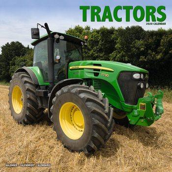 Tractors naptár 2021