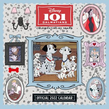 101 Dalmatians naptár 2022