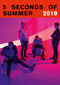 5 Seconds Of Summer naptár 2019