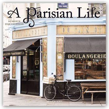 A Parisian Life naptár 2018