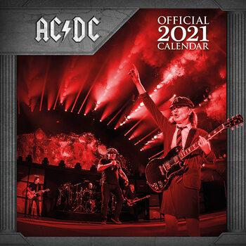 AC/DC naptár 2021