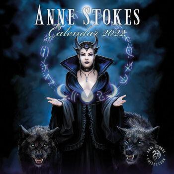 Anne Stokes naptár 2022