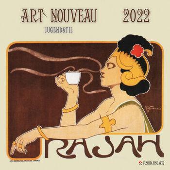 Art Nouveau naptár 2022