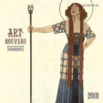 Art Nouveau naptár 2020