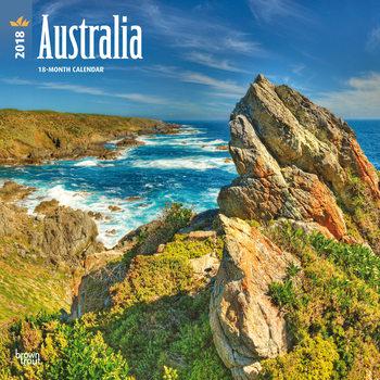Australia naptár 2018