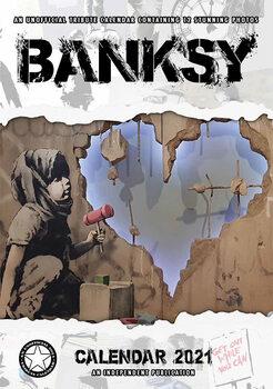 Banksy naptár 2021