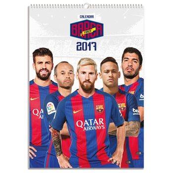 Barcelona naptár 2017