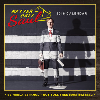 Better Call Saul naptár 2018