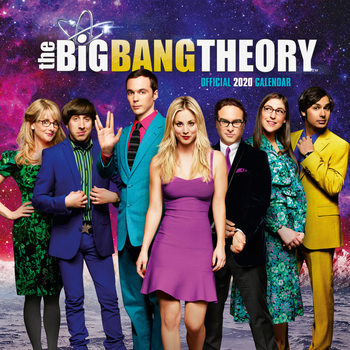 Big Bang Theory naptár 2020