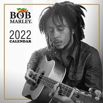 Bob Marley naptár 2022