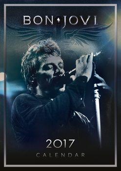 Bon Jovi naptár 2017