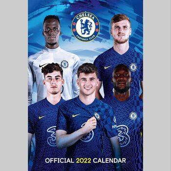 Chelsea FC naptár 2022