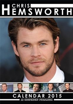 Chris Hemsworth naptár 2016