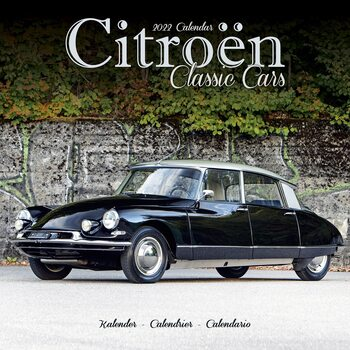 Citroen Classic Cars naptár 2022