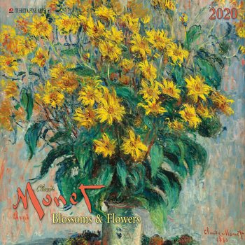 Claude Monet - Blossoms & Flowers naptár 2020