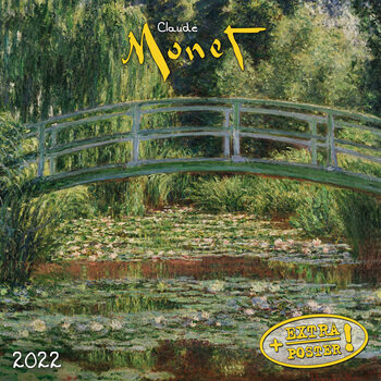 Claude Monet naptár 2022
