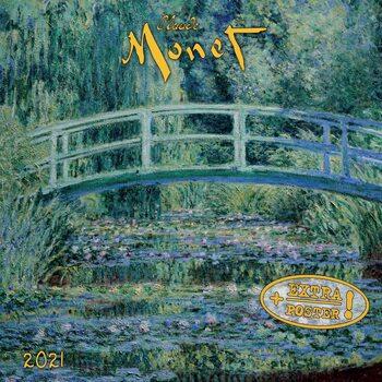 Claude Monet naptár 2021