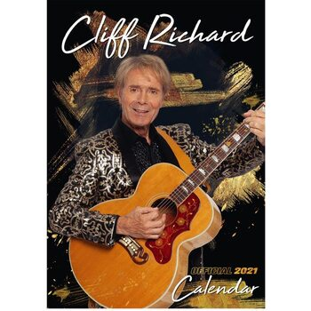 Cliff Richard naptár 2021