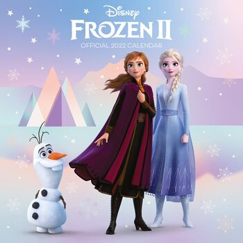 Disney - Frozen naptár 2022