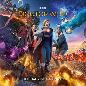 Doctor Who - The 13th Doctor naptár 2020