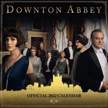 Downton Abbey naptár 2022
