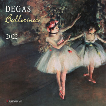 Edgar Degas - Ballerinas naptár 2022