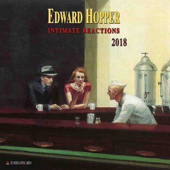 Edward Hopper - Intimate Reactions  naptár 2018