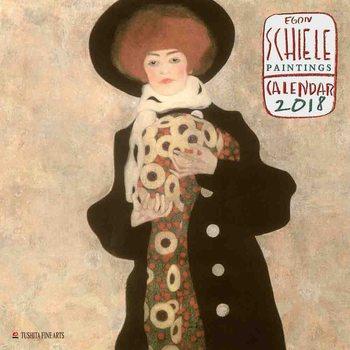 Egon Schiele - Paintings naptár 2020