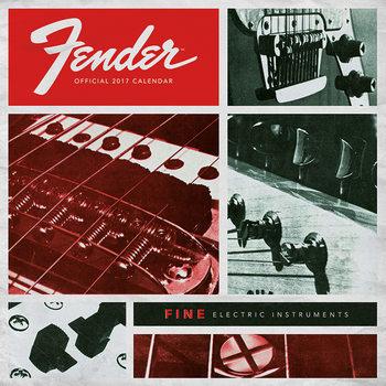 Fender naptár 2017