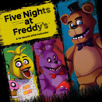 Five Nights At Freddys naptár 2018