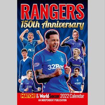Glasgow Rangers FC naptár 2022