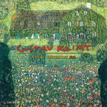 Gustav Klimt - Nature naptár 2022