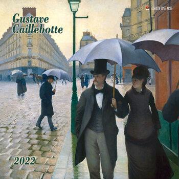 Gustave Caillebotte naptár 2022