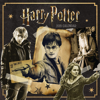 Harry Potter naptár 2019