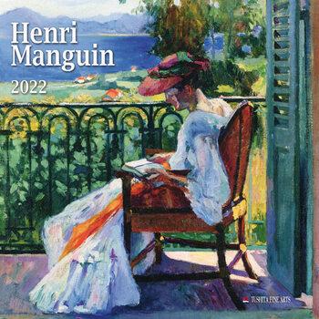 Henri Manguin naptár 2022