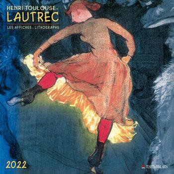 Henri Toulouse-Lautrec naptár 2022
