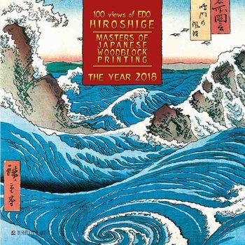 Hiroshige - Japanese Woodblock Painting naptár 2020
