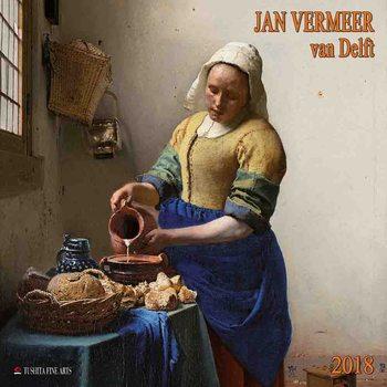 Jan Vermeer van Delft naptár 2020