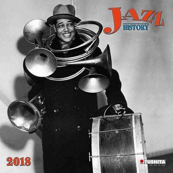 Jazz History naptár 2018