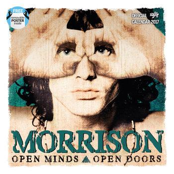 Jim Morrison naptár 2017