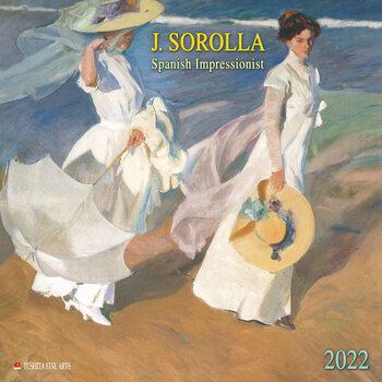 Joaquín Sorolla - Spanish Impressionist naptár 2022