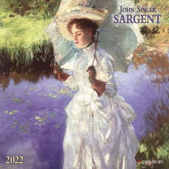 John Singer Sargent naptár 2022
