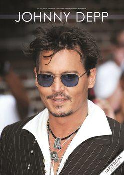 Johnny Depp naptár 2017